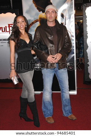 "James Haven (brother of Angelina Jolie) & date at the Los Angeles premiere of ""Beowulf"" at the Mann Village Theatre, Westwood, CA. November 6, 2007  Los Angeles, CA Picture: Paul Smith / Featureflash"