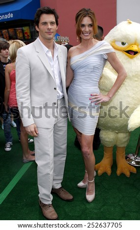 """James Marsden at the Los Angeles Premiere of """"Hop"""" held at the Universal Studios Hollywood in Los Angeles, California, United States on March 27, 2011.  - stock photo"""