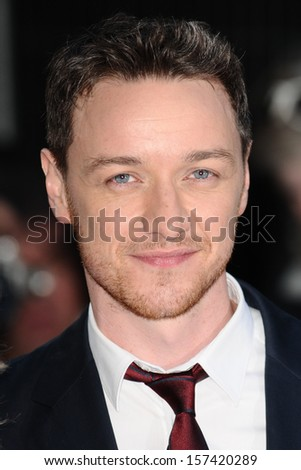 "James McAvoy arriving for the ""Filth"" premiere at the Odeon Leicester Square, London. 30/09/2013 - stock photo"