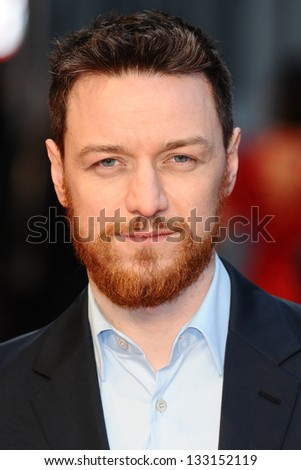 James McAvoy arriving for the 'Tance' UK Premiere, Odeon Leicester Square, London.  19/03/2013 Picture by: Steve Vas