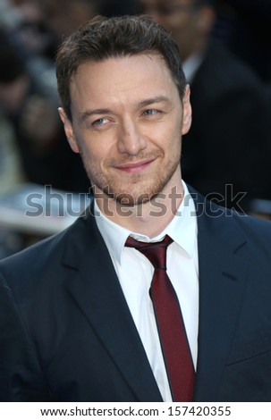 James McAvoy arriving for the UK premiere of Filth held at the Odeon - Arrivals London. 30/09/2013