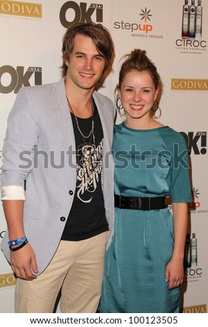 "James Preston and Laura Wiggins  at the ""Women of Music"" Celebration, The Colony, Hollywood, CA. 02-11-11"