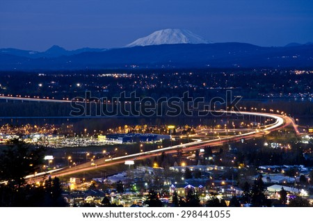 James Woodhill Park at Rocky Butte - stock photo