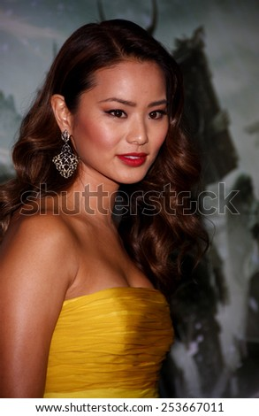 "Jamie Chung at the Los Angeles Premiere of ""Sucker Punch"" held at the Grauman's Chinese Theater in Los Angeles, California, United States on March 23, 2011."