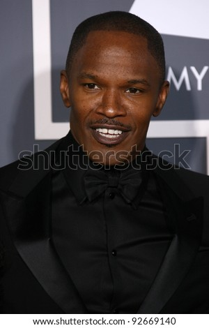 Jamie Foxx  at the 53rd Annual Grammy Awards, Staples Center, Los Angeles, CA. 02-13-11
