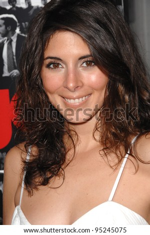 "Jamie-Lynn Sigler at the season premiere of ""Entourage"" at the Cinerama Dome, Hollywood. April 6, 2007  Los Angeles, CA Picture: Paul Smith / Featureflash"