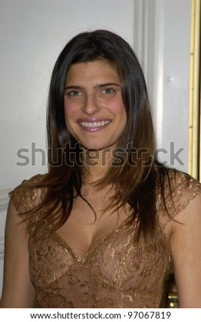 Jan 13, 2005; Beverly Hills, CA; Actress LAKE BELL at a party by In Style Magazine and the Diamond Trading Company at the Beverly Hills Hotel to kick off the 2005 Award Season.