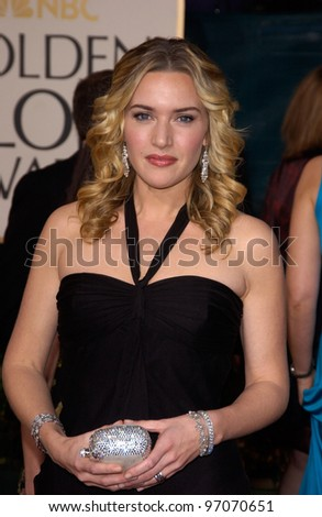 Jan 16, 2005; Beverly Hills, CA: KATE WINSLET at the 62nd Annual Golden Globe Awards at the Beverly Hilton Hotel.