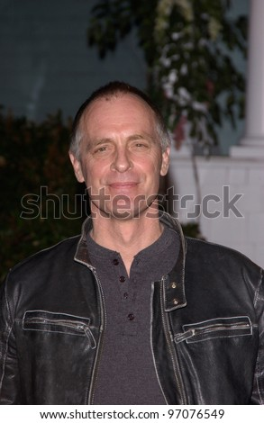 Jan 23, 2005; Los Angeles, CA: Actor KEITH CARRADINE at ABC TV's All Star Party on the Desperate Housewive lot at Universal Studios, Hollywood. - stock photo