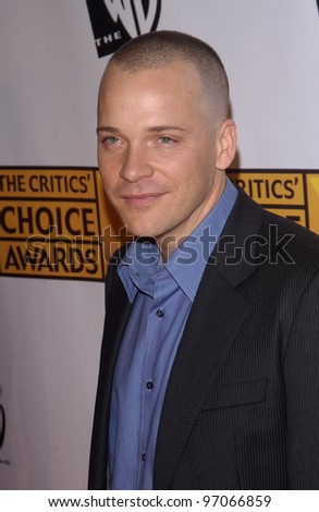 Jan 10, 2005; Los Angeles, CA:  Actor PETER SARSGAARD at the 10th Annual Critcs' Choice Awards at the Wiltern Theatre, Los Angeles. - stock photo