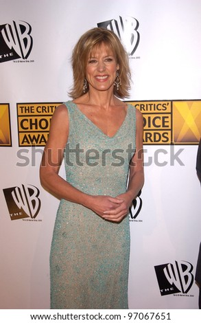 Jan 10, 2005; Los Angeles, CA:  Actress CHRISTINE LAHTI at the 10th Annual Critcs' Choice Awards at the Wiltern Theatre, Los Angeles. - stock photo