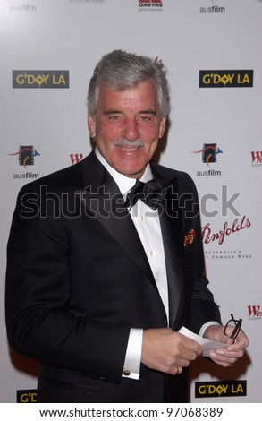 Jan 15, 2005; Los Angeles, CA:  DENNIS FARINA at the G'Day LA Penfolds Gala honoring Australian talent. - stock photo