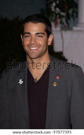 Jan 23, 2005; Los Angeles, CA: Desperate Housewives star JESSE METCALFE at ABC TV's All Star Party on the Desperate Housewive lot at Universal Studios, Hollywood. - stock photo