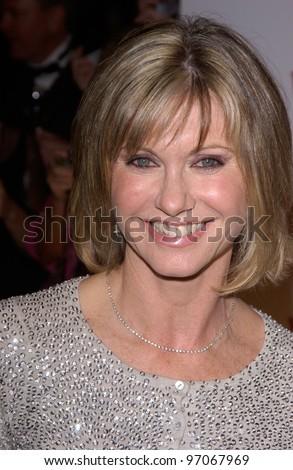 Jan 15, 2005; Los Angeles, CA:  OLIVIA NEWTON JOHN at the G'Day LA Penfolds Gala honoring Australian talent. - stock photo