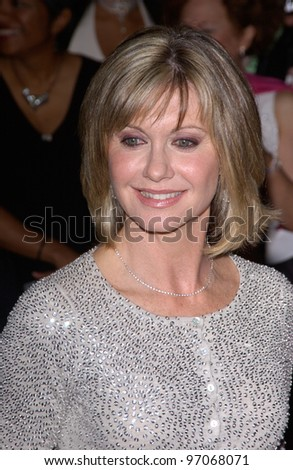 Jan 15, 2005; Los Angeles, CA:  OLIVIA NEWTON JOHN at the G'Day LA Penfolds Gala honoring Australian talent. - stock photo