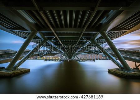 Jan Schaeferbrug Amsterdam  - stock photo