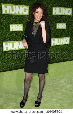 Jane Adams  at the Los Angeles Premiere of the Series 'Hung'. Paramount Theater, Hollywood, CA. 06-24-09