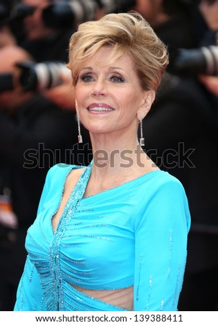 Jane Fonda at the 66th Cannes Film Festival - Jimmy P. Psychotherapy of a plains Indian, Cannes, France. 18/05/2013