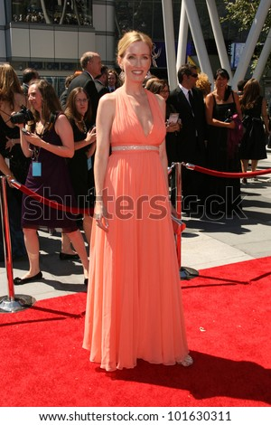 Janel Moloney at the 2010 Primetime Creative Arts Emmy Awards,  Nokia Theater L.A. Live, Los Angeles, CA. 08-21-10