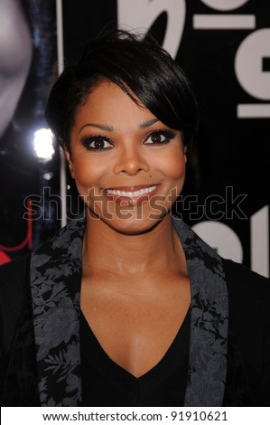 """Janet Jackson at a signing for """"True You: A Journey to Finding and Loving Yourself,"""" Book Soup, West Hollywood, CA. 04-15-11 - stock photo"""