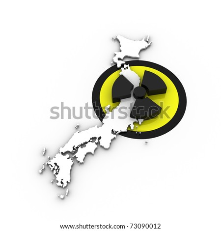 japan - nuclear disaster v.03 - stock photo
