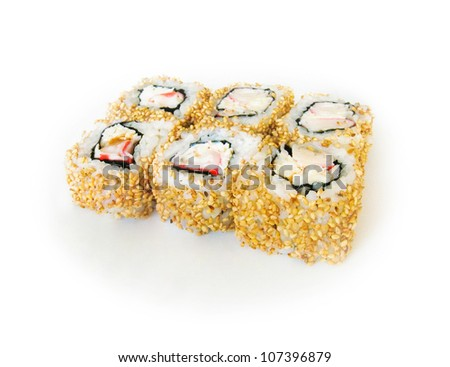 japan trditional food - roll