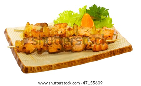 japan trditional hot food isolated - stock photo