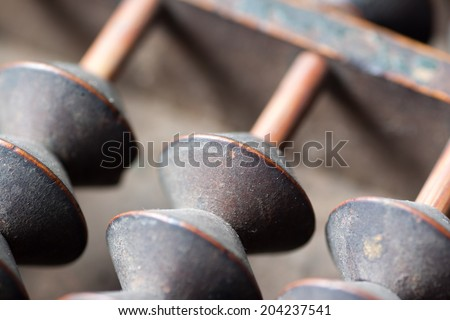 Japanese antique abacus