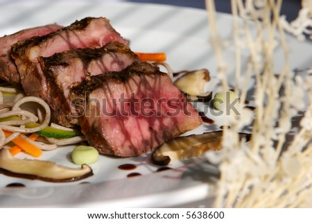 Japanese Beef - stock photo