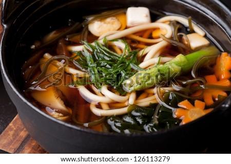Japanese Cuisine - Miso Soup - stock photo