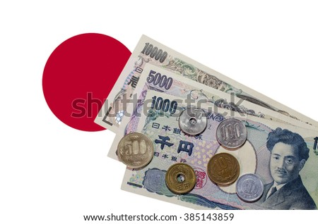 Japanese currency - Yen - stock photo
