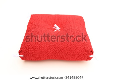 Japanese cushion - stock photo