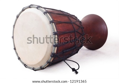 japanese drum - stock photo