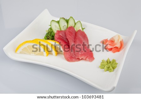 japanese food - stock photo