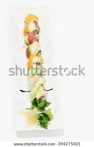 japanese food - stock photo