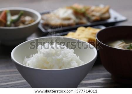 Japanese food image - stock photo