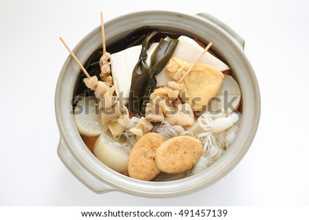 Japanese food, oden