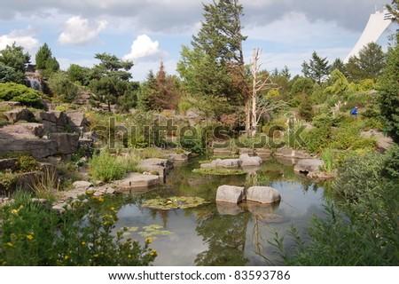 Japanese Garden At The Montreal Botanical Garden  Jardin Botanique De  Montréal