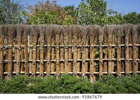 Japanese Garden Fence Style