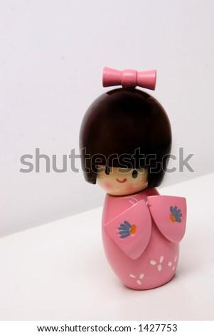japanese girl - stock photo