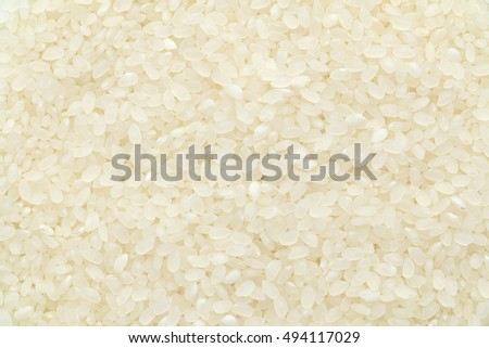 Japanese grain rice texture background