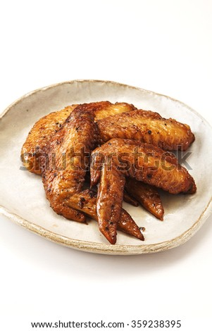 japanese grilled  chicken wing tips