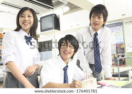 Japanese high-school student image