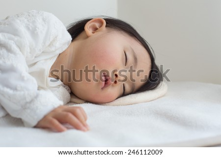 japanese infant - stock photo