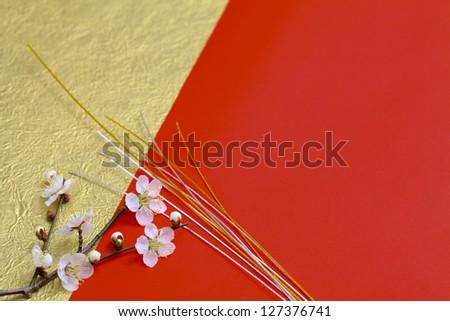 Japanese New Year decoration - stock photo