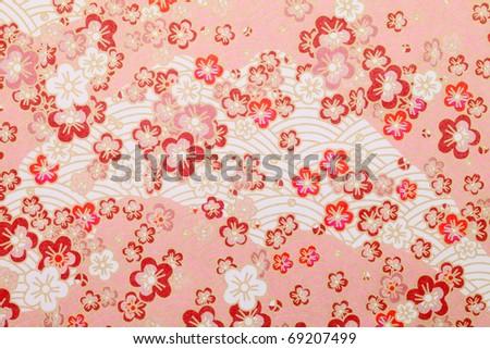 Japanese pattern - stock photo