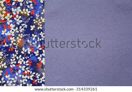 Japanese pattern origami paper for background  - stock photo