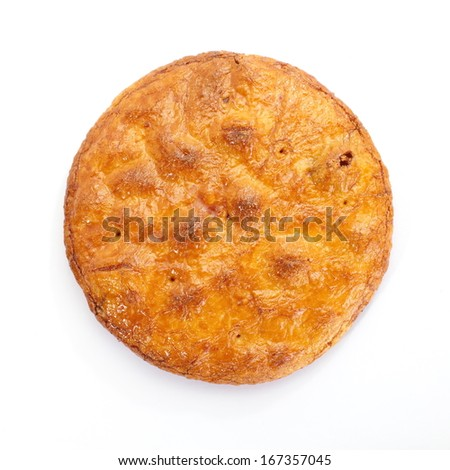 japanese rice crackers , soy sauce flavor - stock photo