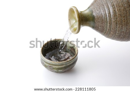 Japanese rice wine  SAKE