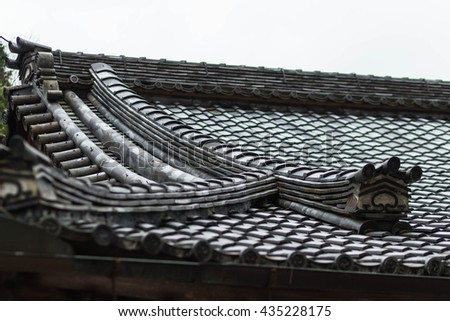 Japanese roof top